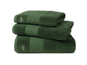 Lacoste L Le Croco Handtuch vert